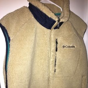 Columbia Omni-wind fleece vest
